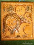 Oroszlános kerámia falicsempe