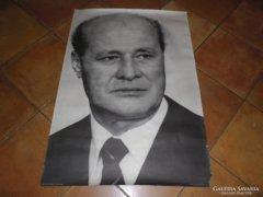 Retro Losonczi Pál portré plakát 100x70 cm