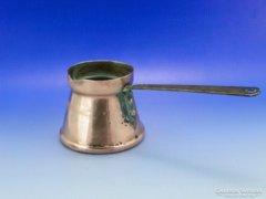 0A738 Antik vörösréz konyhai eszköz kávéfőző