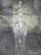 Csodaszép BOHÉMIA kristály csengettyű 19,5 cm
