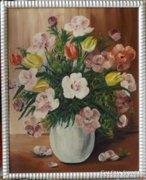 Ismeretlen festő: Virágcsendélet