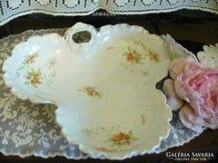 Szép szecessziós porcelán kínáló tál
