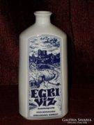 Egri víz porcelán butella  ( DBZ0052 )
