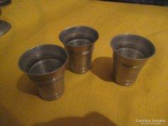3 db Ón feles pohár