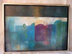 Eredeti Piszkátor Ildikó: Álomváros festmény