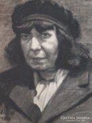Réti Mátyás 1954 Munkás asszony