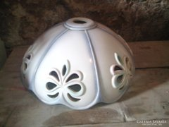 Gyönyörű,régi porcelán lámpabúra