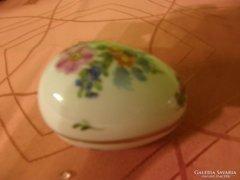 Herendi tojás alakú bonbonier