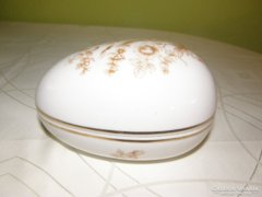 Hollóházi tojás alakú bonbonier