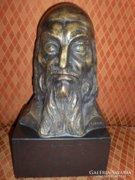 John Tolan jelzéssel: Comenius / bronz szobor