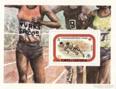 Turks és Caicos szigetek emlék minisheet 1978