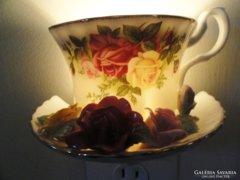 Antik extrém Fényűző Royal Albert Angol 12szem.étkávés.teás