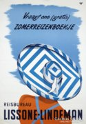 Art deco utazási poster reprodukció.