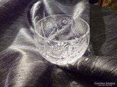Kis méretű kristály kínáló 8,5 cm