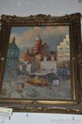 Hans Johann Wagner: Ostende-i városrészlet