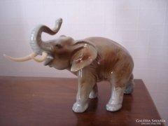 Leáraztam !!!  Royal Dux Elefánt - hibátlan