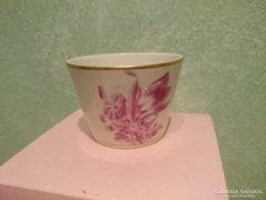 Antik herendi porcelán kis pohárka