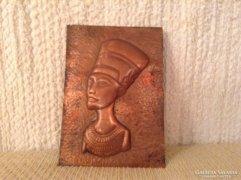 Réz Kleopátra arckép