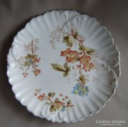 Ludwig Wessel jelz.antik  fajansz tányér