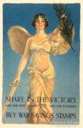 Art deco 1918 háborús poszter reprodukció