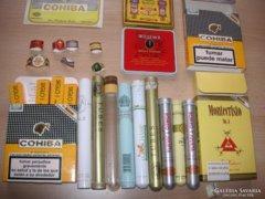 Szivar és cigaretta gyűjtemény