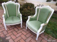 2 db klasszicista fotel