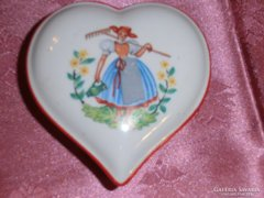 Szív alakú drasche bonbonier