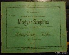 Magyar szépírás füzet