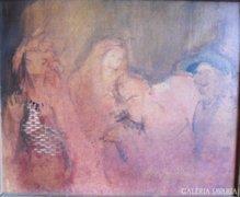 Jánosházi Ágnes festménye