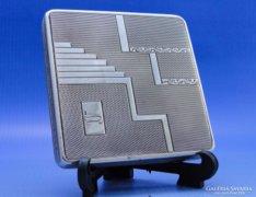 0B354 Régi ezüst púderes szelence