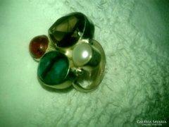 925 jelzett ásvány gyűrű