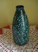 Retro kerámia Tófej váza