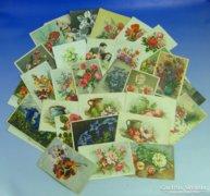 0A933 Régi képeslapok virágos üdvözlőlapok 32 db