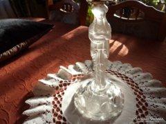 Gyertyatartó Tiffany műhelyéből Kariatida alakkal