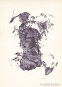 Horváth László (1951) szobrászművész korai grafikái