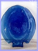 KÉK Tányér halformájó kék