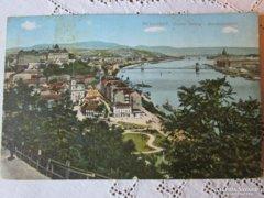 Szines képeslap BUDAPEST TABÁN 1913
