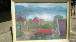 Farkas Eszter / Tihanyi belső tó  KÉPCSARNOKOS