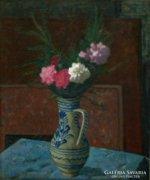 Gábor Móric : Virágcsendélet 1957