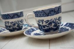 2db tojáshéj kínai porcelán csésze