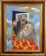 Mihail Volkov  : Jöjj vándor c. festménye