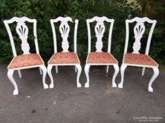 Restaurált neobarokk szék/4 db.