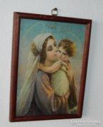 Antik szentkép > Szűz Mária a kis Jézussal