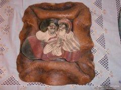 Vertel Andrea kerámia falikép