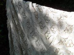 Antik klöpli fúggöny