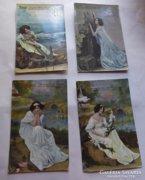 Antik angol képeslapok 1911-ből