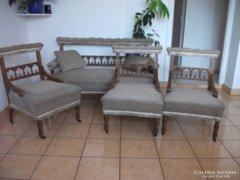 Antik ónémet szalongarnitúra eladó!Kanapé+3 fotel!