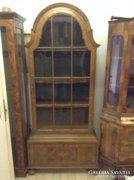 Eredeti farncia bidermaier vitrines szekrény 200x90x40cm
