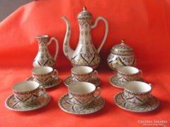 LEÁRAZVA !!!  Zsolnay perzsa mintás kávés készlet