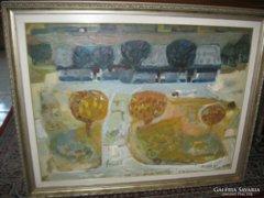 Ballagó Imre festmény eladó